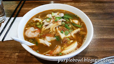 Prawn noodles or Har Mee at Roti Road