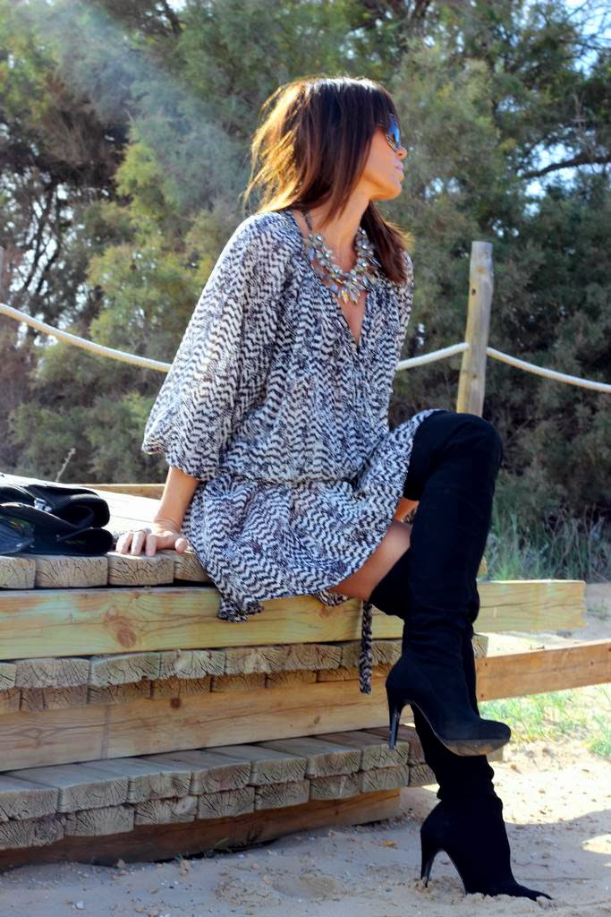 Vestido H&M para Isabel Marant