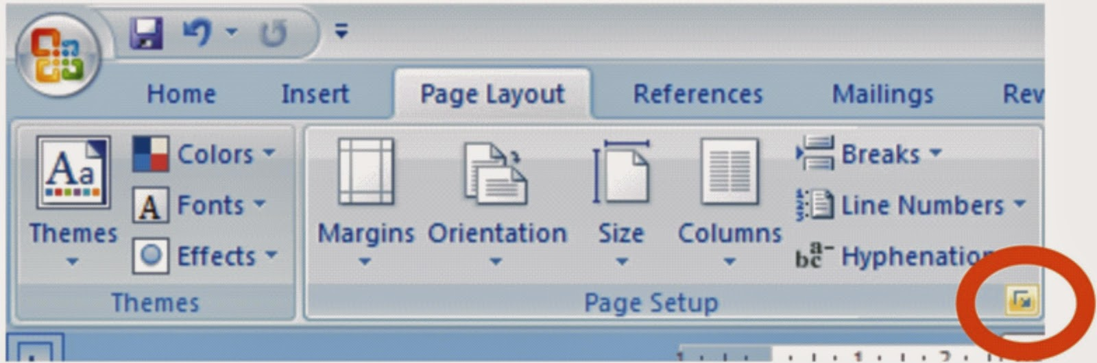 how to make the page landscape on microsoft word