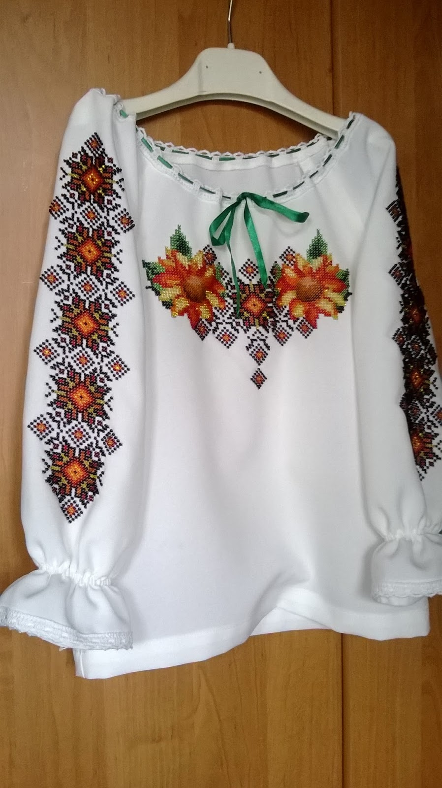 Блузка Вишита Бісером В Санкт Петербурге