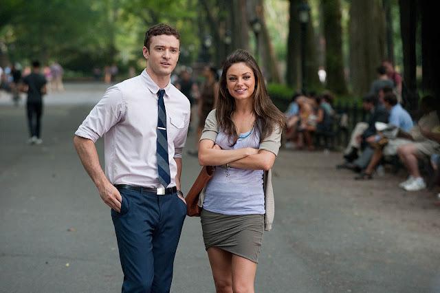 Mila Kunis y Justin Timberlake en Con Derecho a Roce