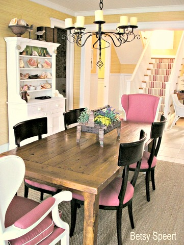 Betsy Speert\'s Blog: Beach Cottage Dining Room
