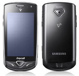 Samsung SHW-A175S touchscreen phone for South Korea