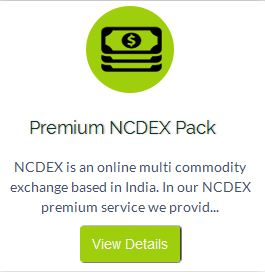 Premium NCDEX Pack