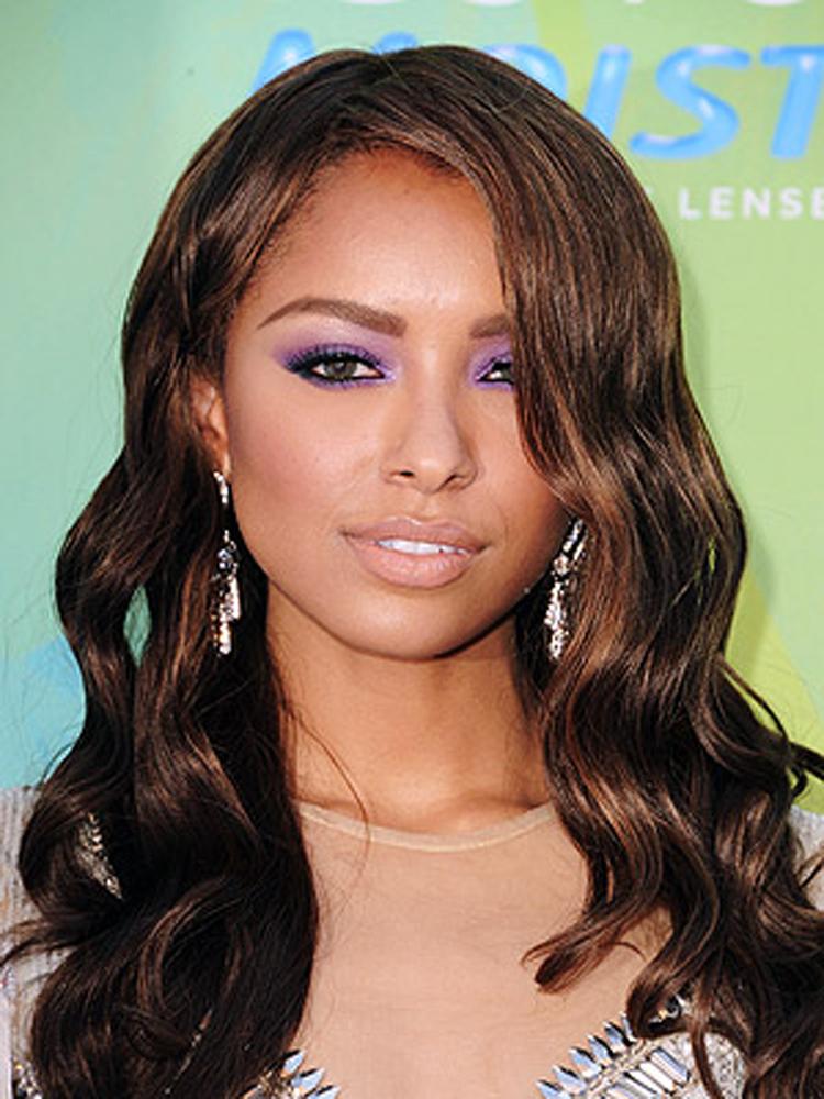 Kat Graham Fresh Brunette Hairstyles