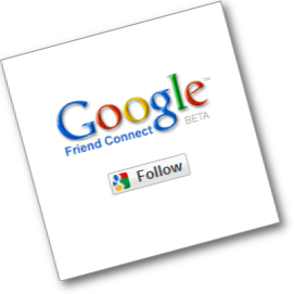 Google Friend Connect GFC Seguidores Blog
