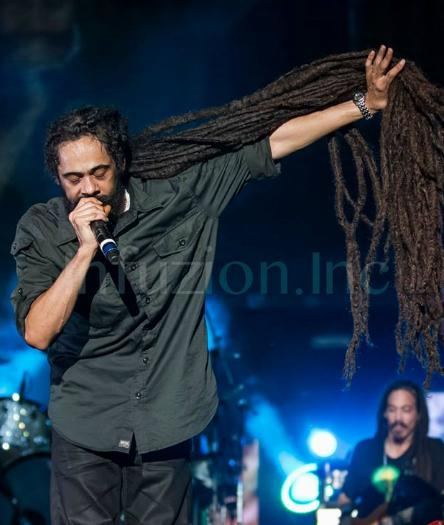 Tallawah magazine the best of jamaican culture on the scene performing selections from his richly eclectic repertoire as well as some classic bob marley hits damian gongzilla marley and his enormous locks easily thecheapjerseys Gallery