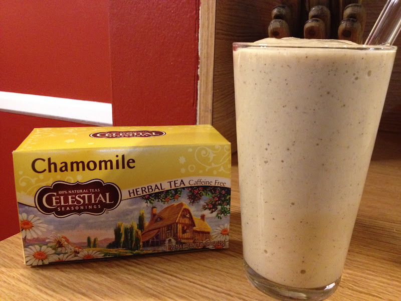Vegan Road Runner: Banana Chamomile Smoothie (updated recipe)