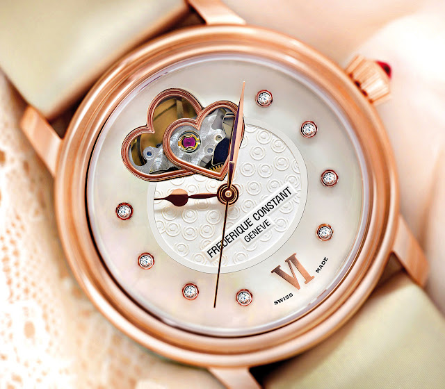 Frederique Constant Ladies Automatic World Heart Federation Watch