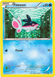 Finneon Phantom Forces Pokemon Card