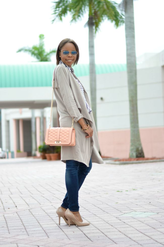 Fall Outfit Ideas | Light Trench Coat