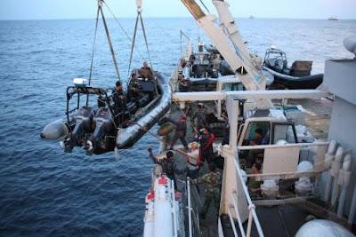 Foto Gelar Operasi Pembebasan MV Sinar Kudus