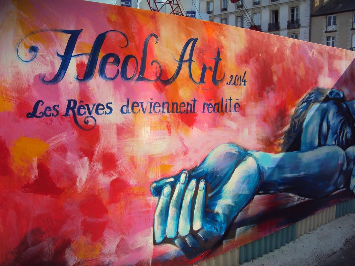 """Fresque murale : """"Heol Art - Les Rêves deviennent réalité..."""" - 24 juin 2014"""