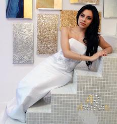 Moda: Edwin Rosario, Modelo:Iolette Cruz, Reina Del Café PR 2016.