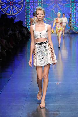 Beachwear - Dolce & Gabana Kollektion Sommer 2012