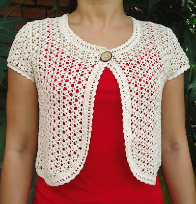 Bolero Crochet Free Pattern Tie Patterns Gallery