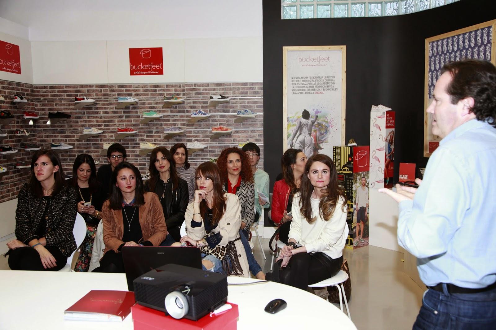 bloggers bucketfeet