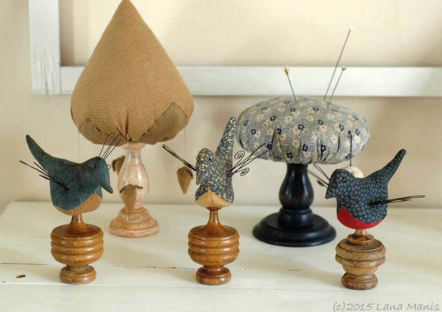 Folk Art Birds