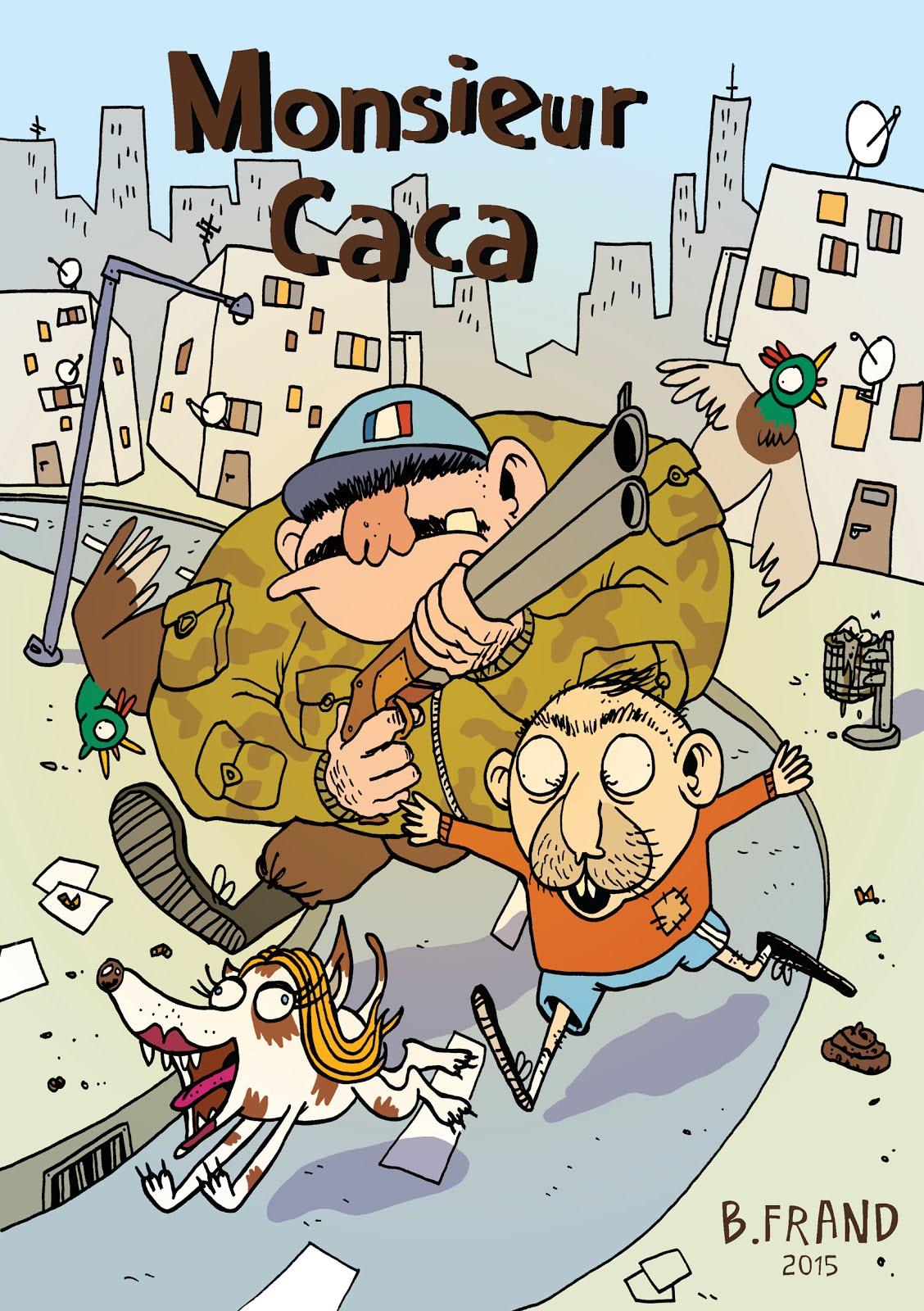 Monsieur Caca - BD