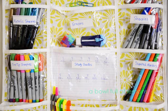 Over The Door Homework Organizer Middle School - image 6