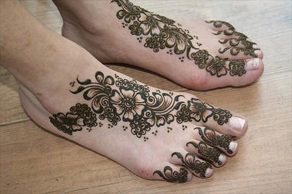 arabian bridal mehndi