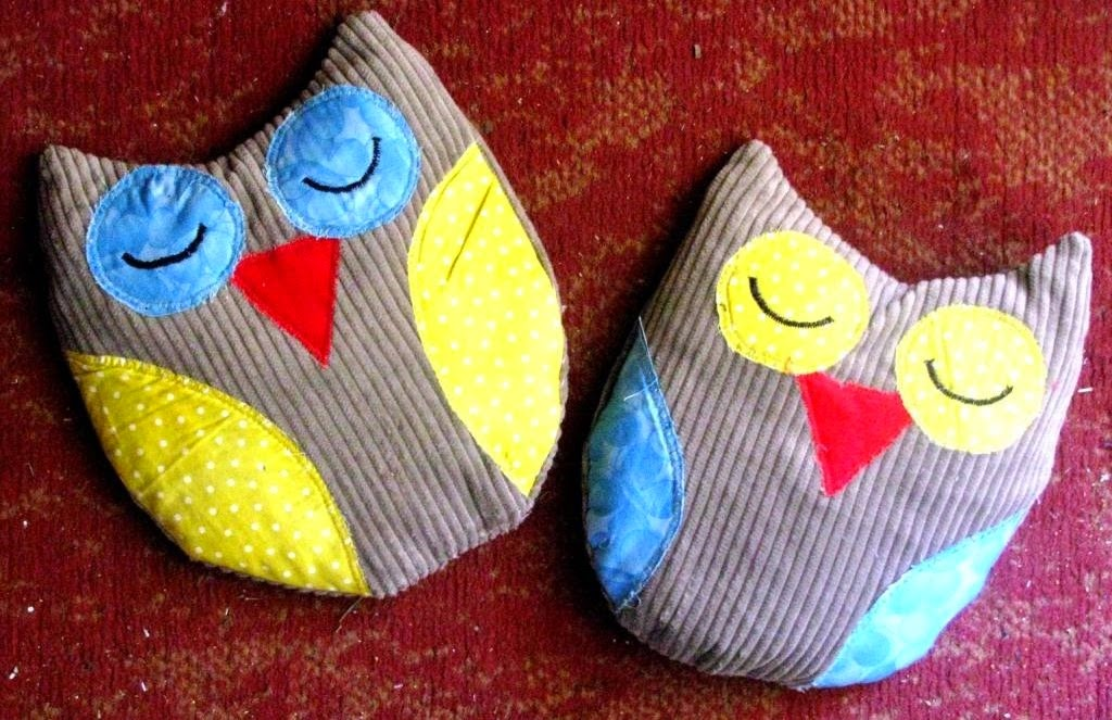 Inkspirational Designs More Owl Heat Packs