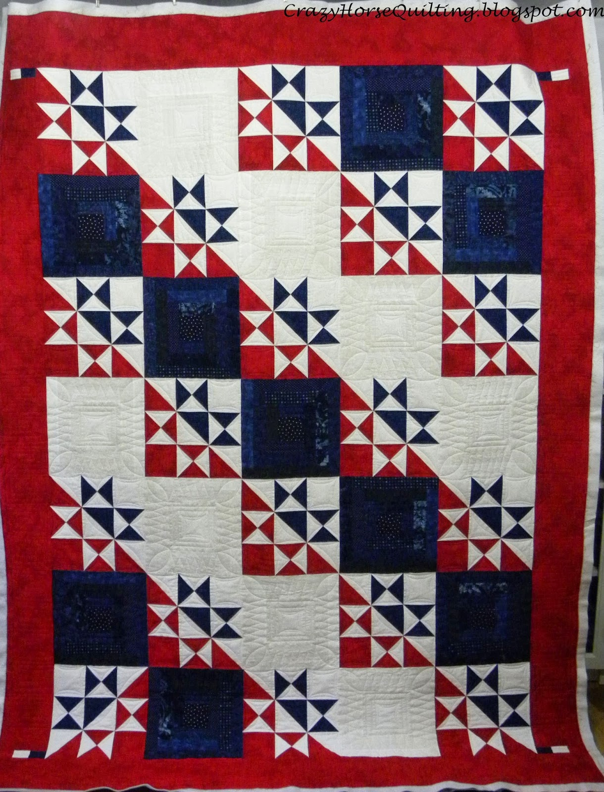 Quilt Patterns For Quilts Of Valor : Crazy Horse Quilting: My Country Quilt of Valor