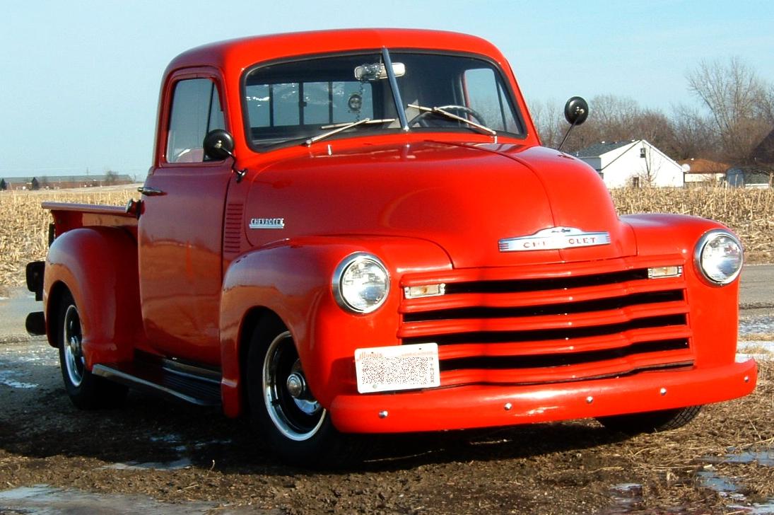 52 Chevy Truck Original Fender Chaep Truck