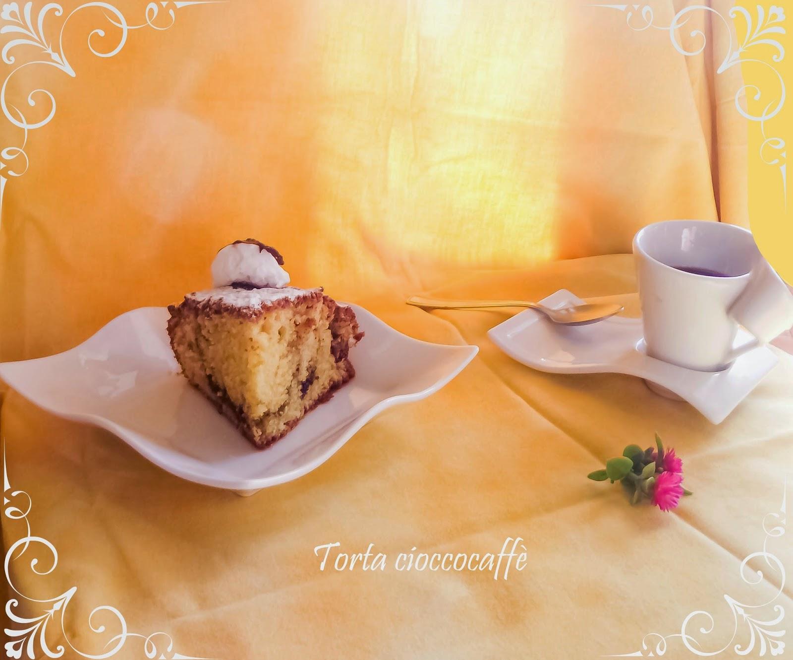torta al cioccocaffè...per un risveglio con i fiocchi!