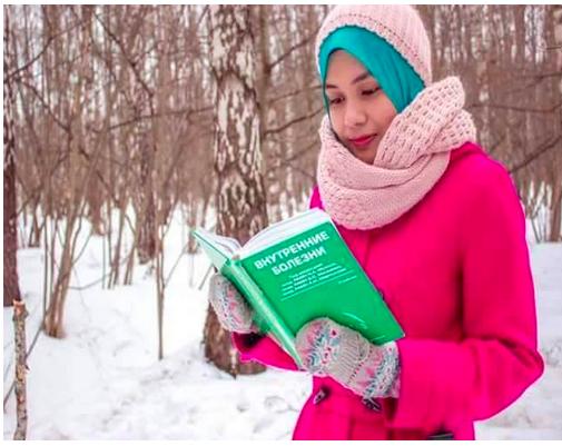 Nur Atikah Alias Pelajar Rusia
