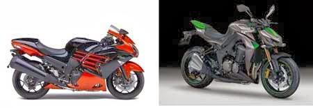 Motor Kawasaki Terbaru