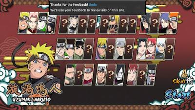 Kumpulan Game Keren Naruto di Android