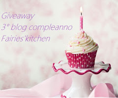 3 buon blogcompleanno a Fairies&#39;Kitchen