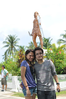 Lapu-lapu shrine at the background