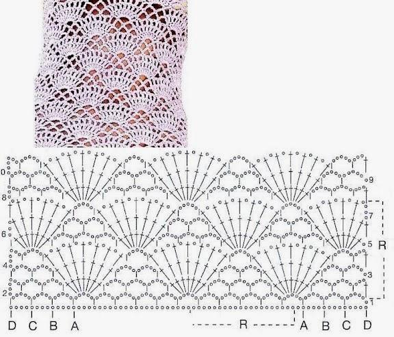 Crochet Stitches Diagram : TRICO y CROCHET-madona-m?a: Gr?ficos de puntos (Crochet ) ganchillo ...