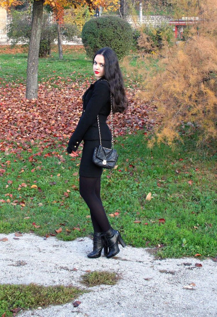 fabulous dressed blogger woman: angelica from bosnia