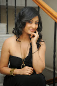 Tanishka Glam Photo shoot in Black-thumbnail-9
