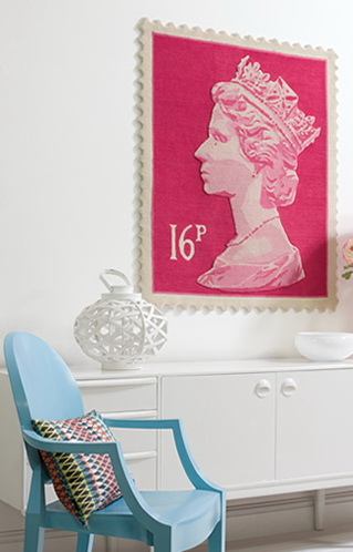 Stamp Rug dec-a-porter: imagination @ home: architectural digest show - art
