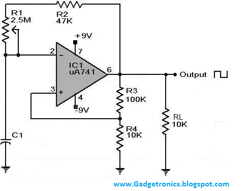 1 5 Million High Gain Transistor in addition 4011 Touch Control Switch Circuit furthermore Square Wave Generator Circuit Using Ic also Audio Clipping Indicator in addition Power Supply 20v And 20v 5a By Lm338. on 555 electronic circuits