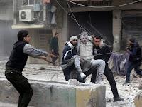 50 Warga Sipil Suriah Tewas Akibat Serangan Udara Rusia