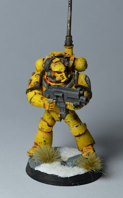 Pre-Heresy Imperial Fists Mark IV Vox