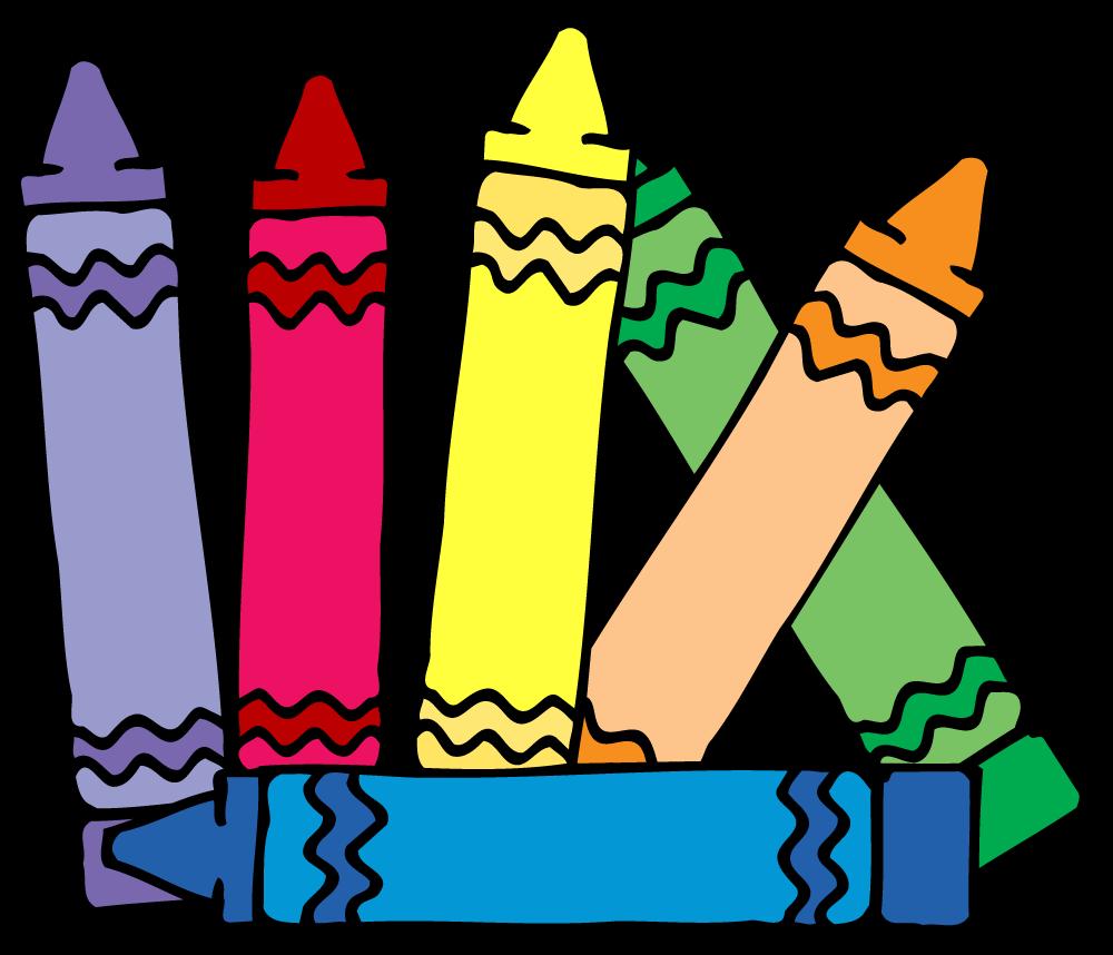 Kindergarten Crayons: Button Up