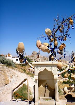 Nazars on House in Turkey