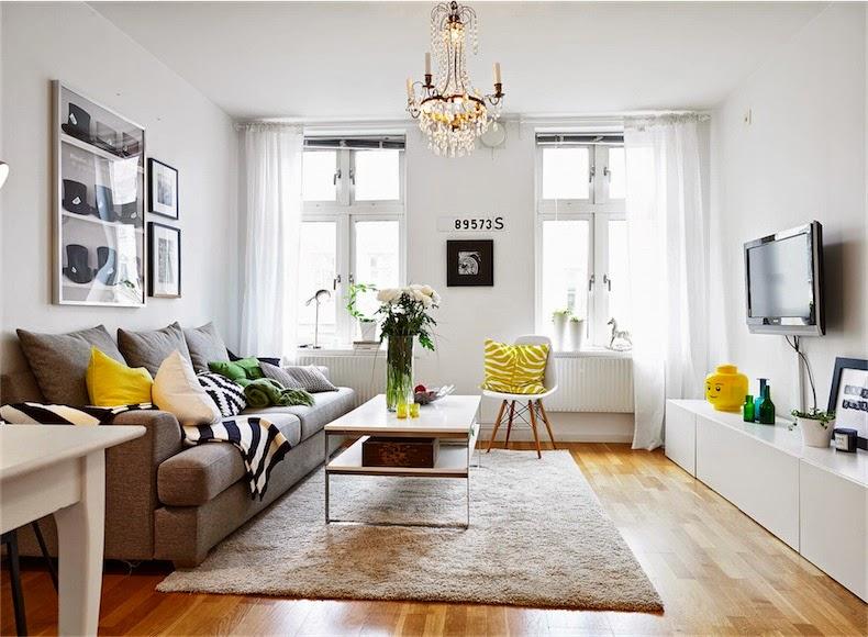 Un mini apartamento small apartment for Decorar mini apartamentos