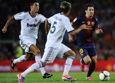 Cristiano vs Messi Spanish Super Cup 2012