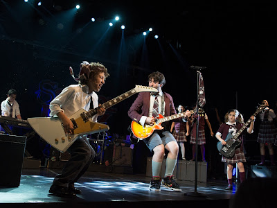 Alex Brightman and the cast of School of Rock - Photo Credit: Timmy Blupe