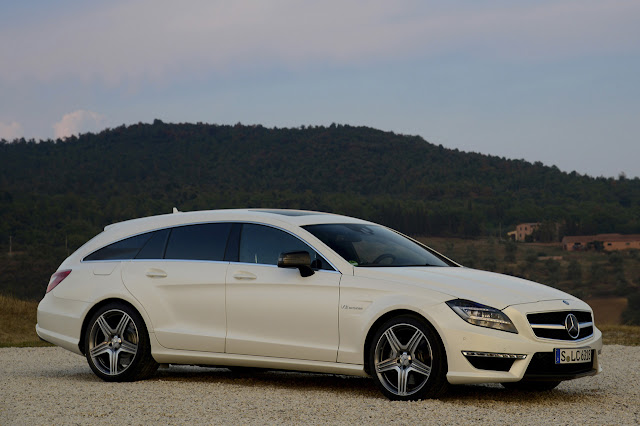 Mercedes Cls 63 Amg Shooting Brake 2013
