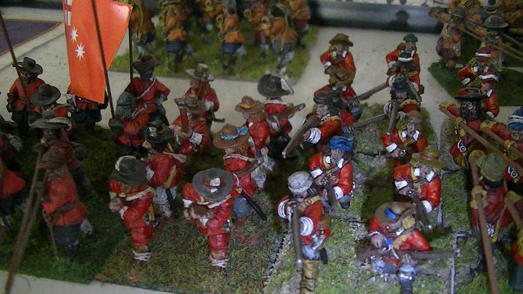 Engish civi war infantry