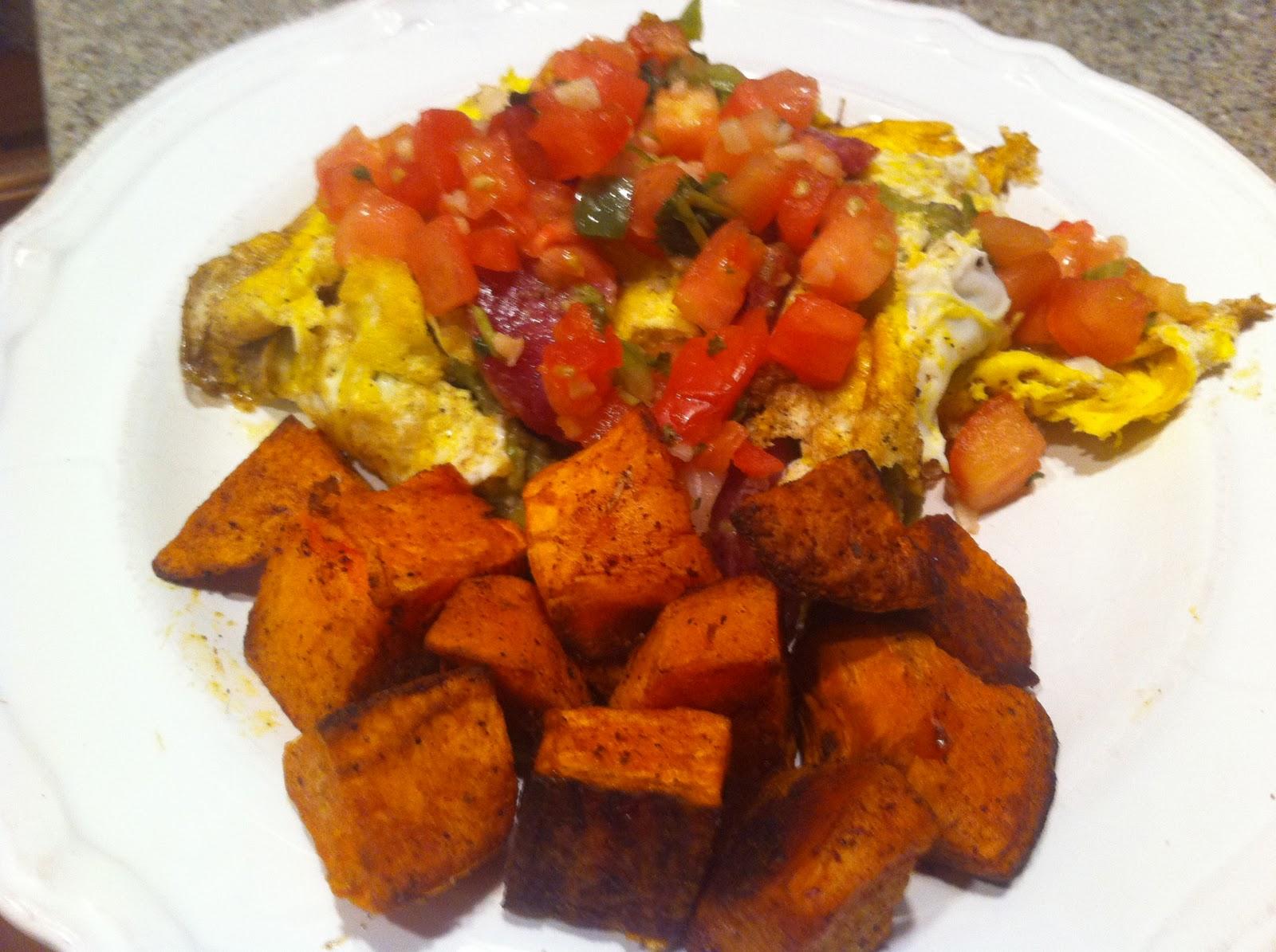 the preppy paleo: Guacamole Omelette