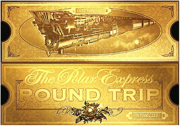 Polar Express Ticket Template Free | Search Results | Calendar 2015